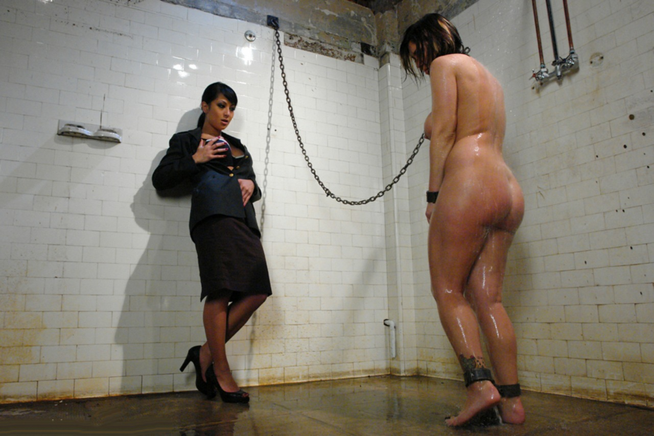 For Nude girl shower bondage opinion